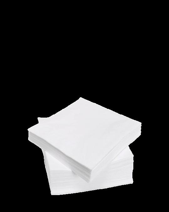 3 Ply White Serviettes 40cm x40cm x1000