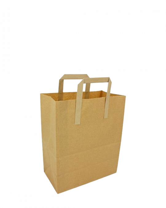"""Brown Paper Carriers 260 x390 x305mm 10"""" x125"""