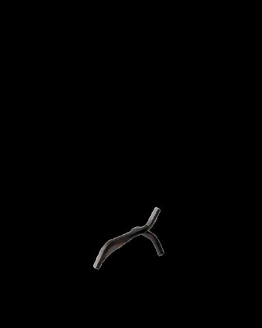 Andiron Log Holder Gi Metal