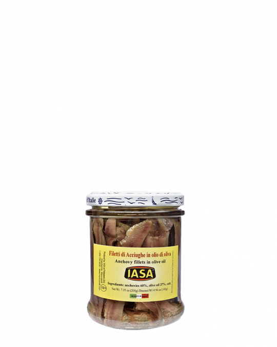 Filetti Di Alici Iasa 12x600gr