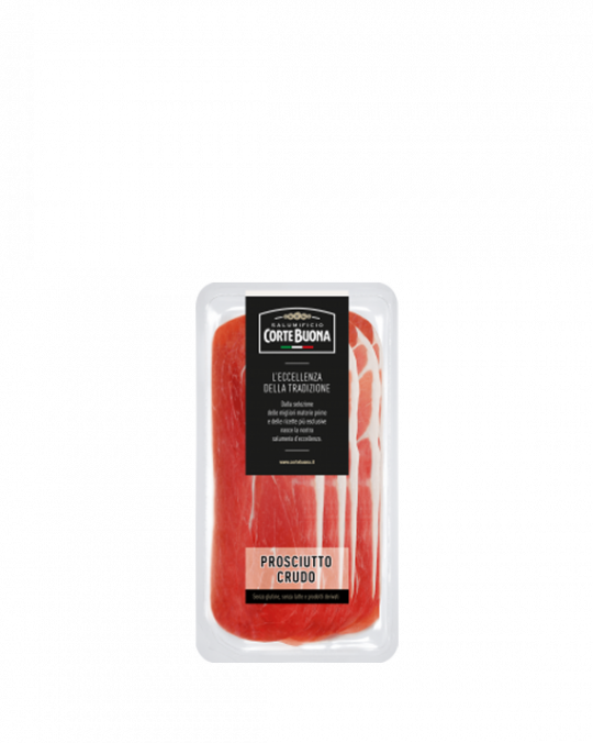 Cortebuona Prosciutto Crudo Sliced 15x80gr