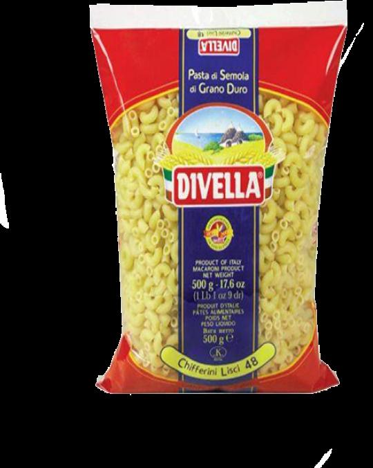 Chifferini Lisci Elbows Divella 24x500gr