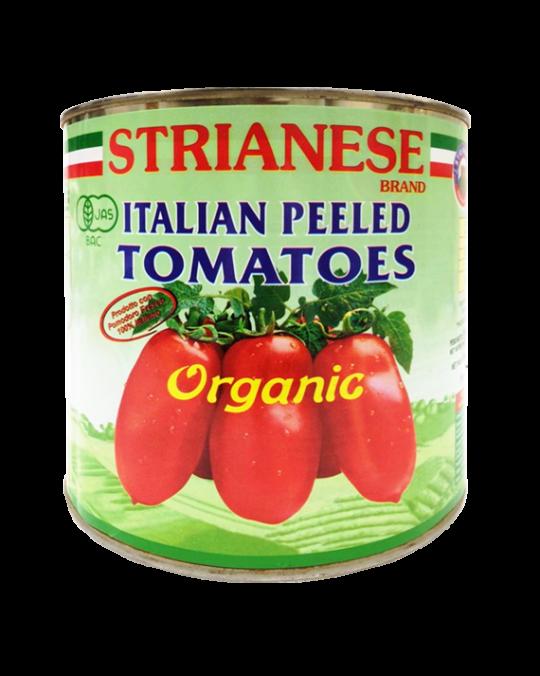 Bio Peeled Tomatoes Strianese 6x2.5kg
