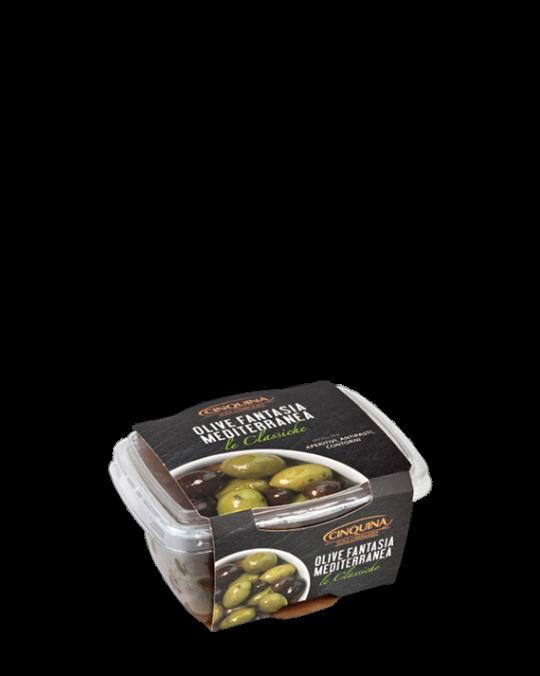 Mediterranean Olive Medley Fantasia Mediterranea Cinquina 12x250gr