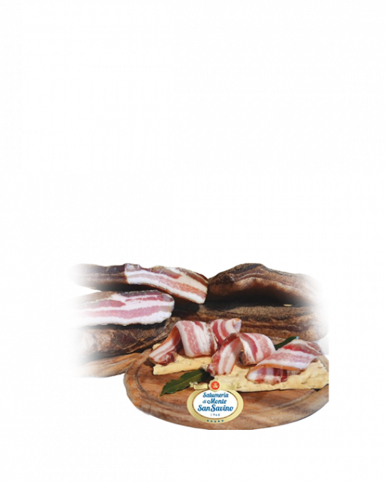 Tanned Pork Belly Pancetta Stesa Rigatino Toscano San Savino 2.5kg
