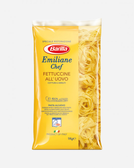 Fettucine No. 230 Emiliana Chef Barilla 6x1kg