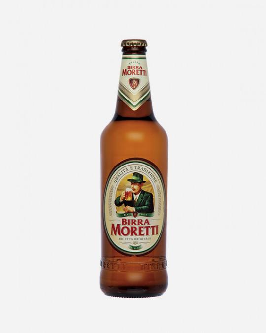 Birra Moretti 4.6% Bottles 24x33cl