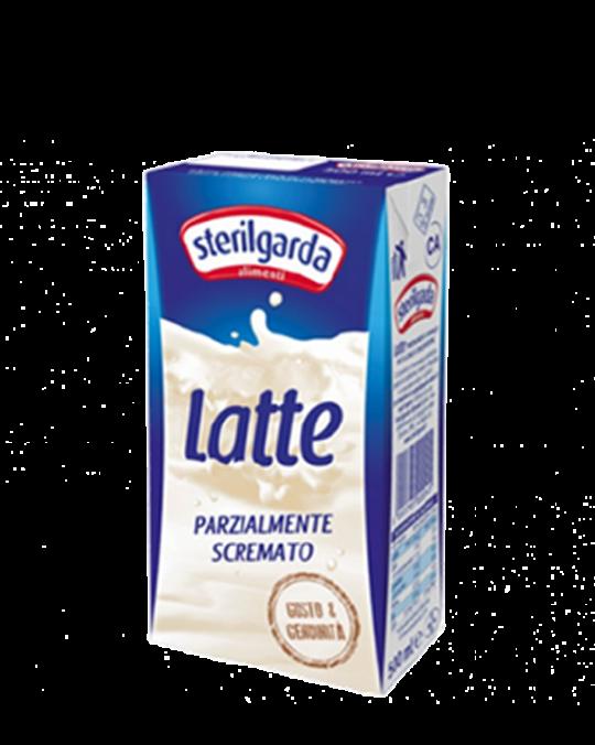 Latte Parz. Scremato Sterilgarda 12x1L - Uht Semi Skimmed Milk