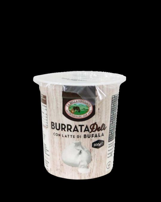 Buffalo Milk Burrata di Buffala Contadina 6x200gr