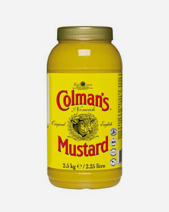 English Mustard Colman's 2.25L