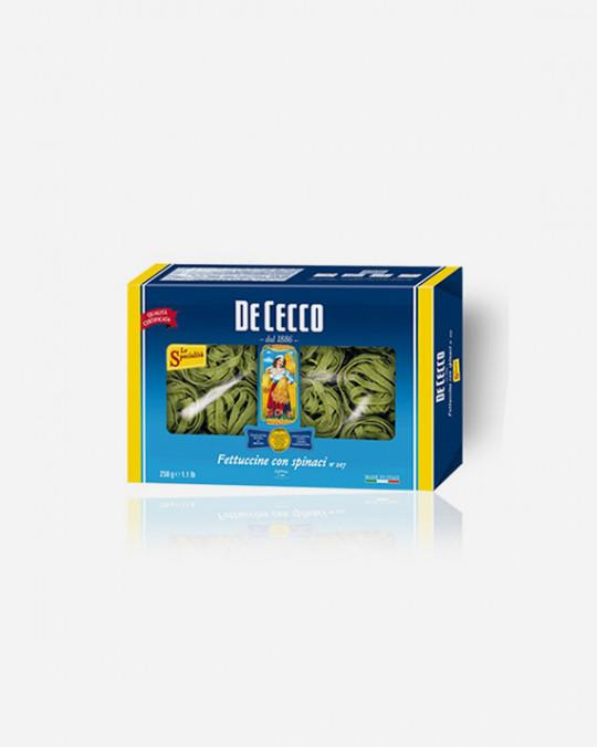 Green Fettuccino Verdi De Cecco 12x500gr