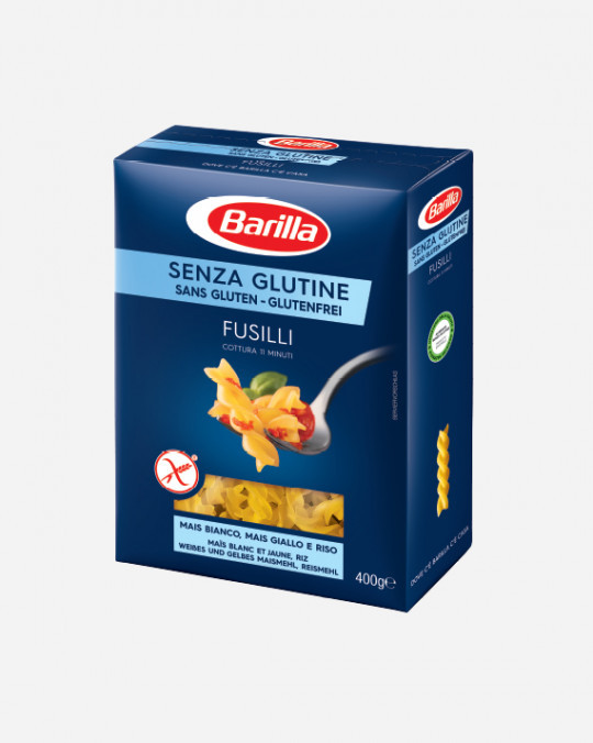 Gluten Free Fusilli Barilla 14x400gr