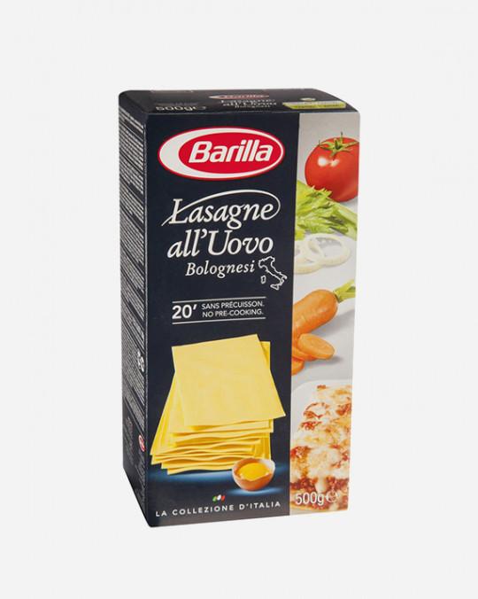 Egg Lasagne Uova Barilla 15x500gr