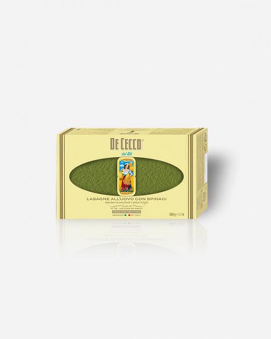 Green Lasagne Verdi De Cecco 12x500gr