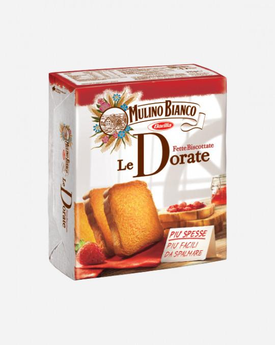 Fette Biscottate Dorate Mulino Bianco 32x315gr