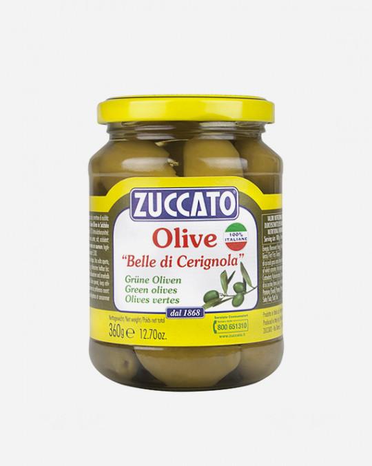 Cerignola Olives Belle Cerignola Zuccato 6x360gr