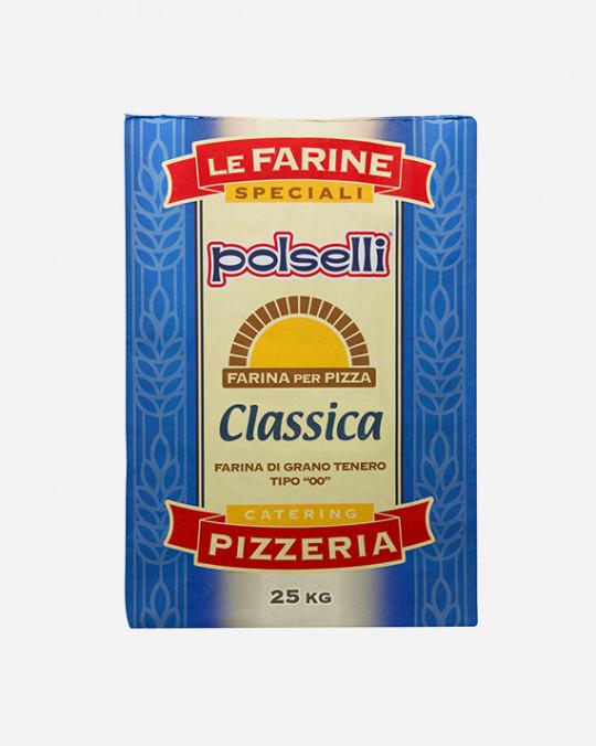 Farina Pizza Blu Classica Polselli 25kg