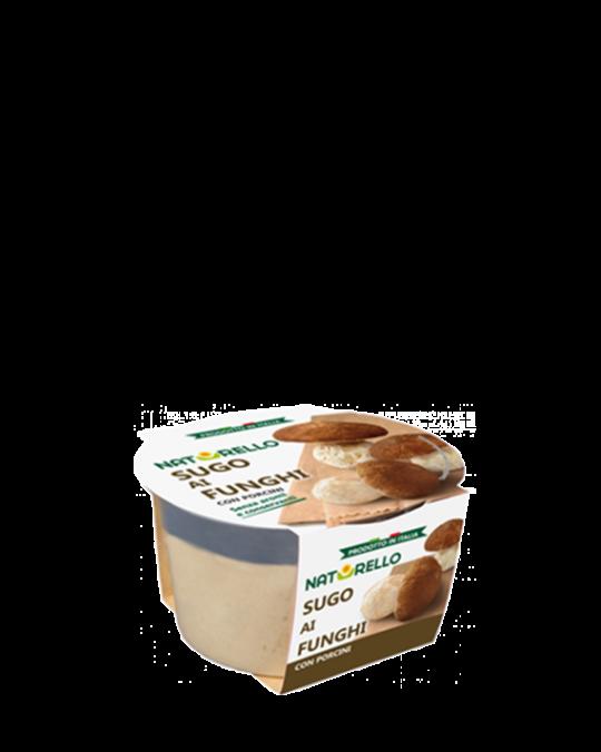 Fresh Mushroom Sauce Sugo ai Funghi Naturello 6x140gr