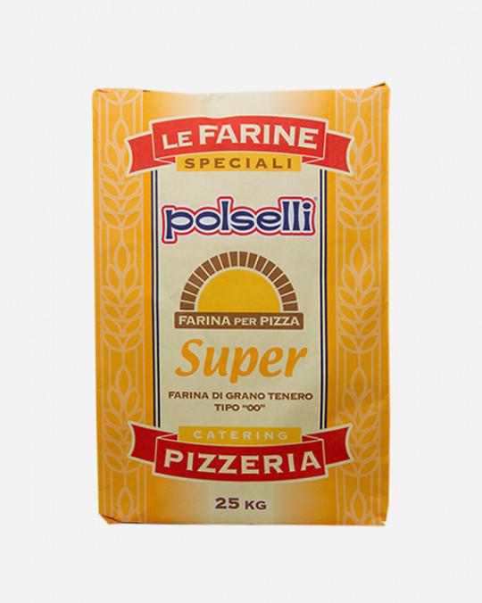 Farina Pizza * Gialla Super* Polselli 25kg