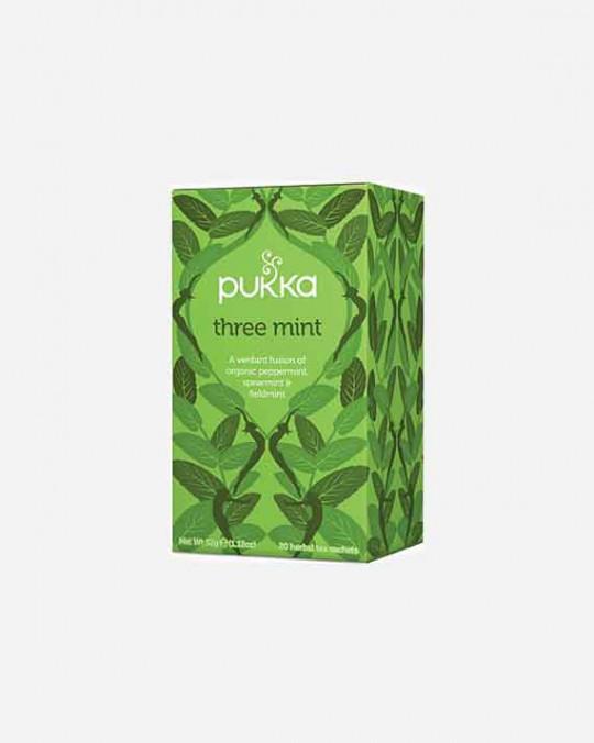 Tea Three Mint Pukka 4x20